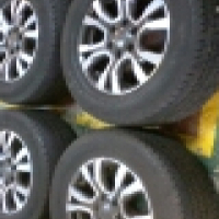 Ford ranger wildtrack 18 inch rims and tyres