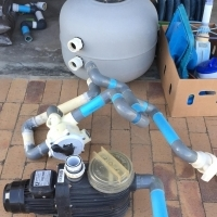 Pool Pump and Accessories For Sale