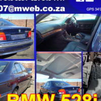 E39 BMW 528i stripping for spares