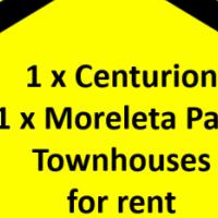 Centurion / Moreleta Park Townhouse For Rent