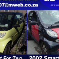 Smart, Mini, Chery and Daewoo stripping for spares
