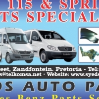 MERCEDES SPRINTER NEW AND USED PARTS