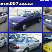Hyundai Accent stripping for sparse