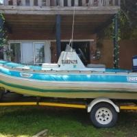 Superduck yamaha 85 boat for sale
