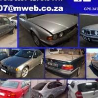 BMW E30, E32, E34, E36, E39, E46, E87, E90, E53 stripping for spares