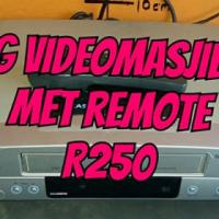 LG Videomasjien met remote