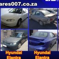 Hyundai Elantra J1, J2, J3, J4 and J5 stripping for spares
