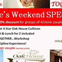You, Me, Together! ~ Couple's Weekend Getaway Special