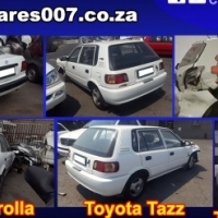 Toyota stripping for spares