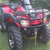 Rustler 550 4x4 feulinjection ATV