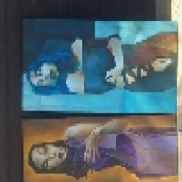 Two ladys painting