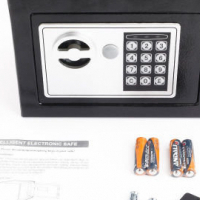 Durable Digital Electronic Safe Box Keypad Lock Home Security Office Hotel