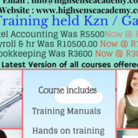 Payroll & hr training course held in Richardsbay May / June 2017
