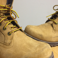 Genuine mens Timberland boots