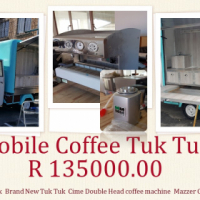 Coffee Shop Mobile Tuk Tuk Fully fitted