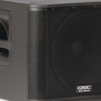 "QSC KW181 18"" 1000W RMS ACTIVE SUBWOOFER"