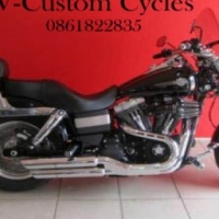 Stunning Dyna Fatbob Price Has Been Reduced by R12 000.00!