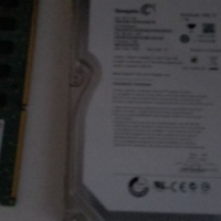 1terabyte internal harddrive and 1x solid 4gig ddr3 ram for sale
