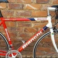 Bianchi Pro Race Team Road Bike - Collector's