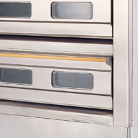 Bread oven double deck 6 tray