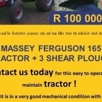 Massey Ferguson 165 Used Tractor