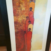 Print by Gack in Large frame