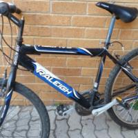 great running raleigh mountain bike