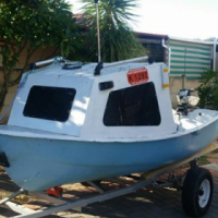 Boat on trailor