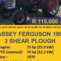 Massey Ferguson 188 Used Tractor