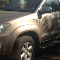 33. Toyota Fortuner 4.0 V6 4x4 Automatic - for hire