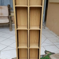 Beautiful, stable CD rack. GOOD Condition