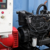 Generator 22 Kva 3 phase Powered By Thermo King / Isuzu C220 Engine in every day use