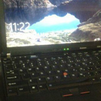 Lenovo X200 Thinkpad with charger