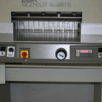 Electric paper guillotine for sale