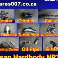 Nissan Hardbody NP300 ZD30 loose parts for sale