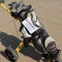 Maxed Golf Bag with Golf Bag Carrier