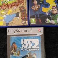 PS 2 Games and memory card R50each