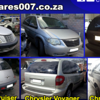 Chrysler Neon, Voyager and PT Cruiser stripping for spares