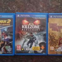 3 PS Vita games