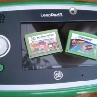 Leap pad + case + 2 games like brandnde