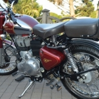2012 Royal Enfield Classic Chrome 500 Red