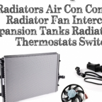 High Quality Radiator Air Con Condenser Radiator Fan Intercooler Expansion Tank Thermostat Switch
