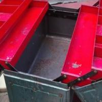Toolbox – Vintage Metal lockable