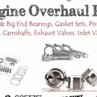 High Quality Engine Parts Rings Main Bearings Big End Bearings Pistons Full Gasket Set Valves Rocker