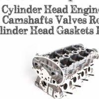High Quality Cylinder Head Engine Top Camshaft Gasket Rockers Valves Stems Cam Followers Camshaft Ge