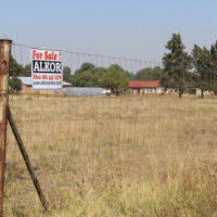 BENONI AGR. HOLDINGS-PRICE REDUCED-1 Ha=VANT WITH BOREHOLE-R575,000