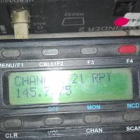 VHF Mobile Radio.