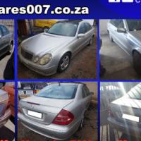 Mercedes E240, E320 and E500 stripping for spares