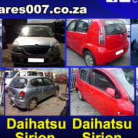 Daihatsu Charade, Sirion, Terios breaking up for spares