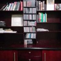 Custom bookshelf & cupboard URGENT (Make me an offer must go asap )